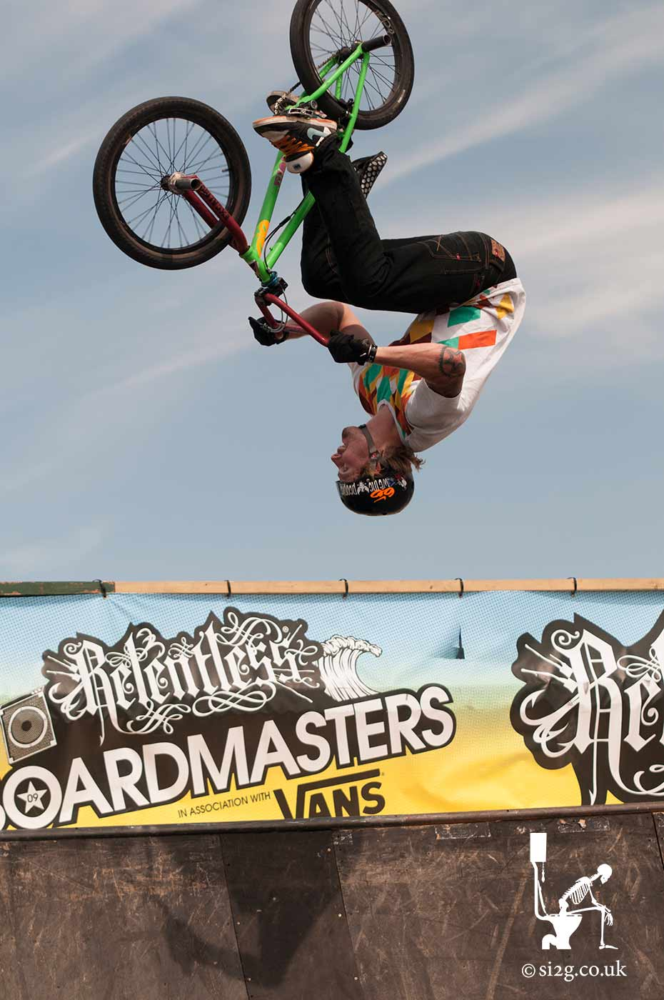BMX Flair at Newquay Boardmasters - The Boardmasters Festival is an annual affair in Newquay every summer, where you get to see the UK
